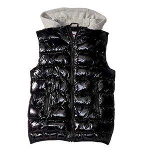 Appaman Kids Boy's Apex Puffer Vest black new!